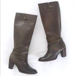 KORS Michael Kors Leather Boot